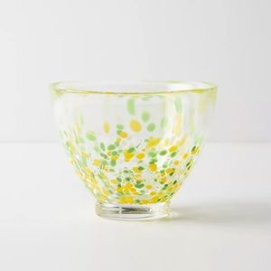 Anthropologie Set of 2 Glass Bowls New